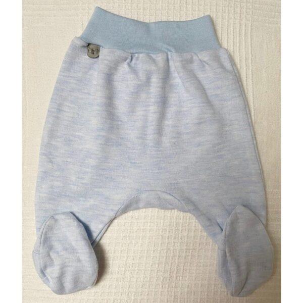 Kék talpas nadrág koraszülötteknek